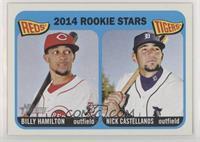 Rookie Stars - Billy Hamilton, Nick Castellanos