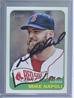 Mike Napoli [Manufacturer COA Sticker]