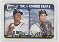 2014 Rookie Stars (Taijuan Walker, James Paxton)