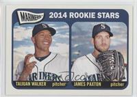 Rookie Stars - Taijuan Walker, James Paxton