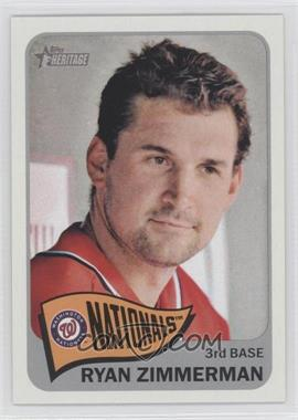 2014 Topps Heritage - [Base] #469.1 - Ryan Zimmerman (Base)