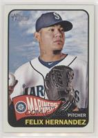 Felix Hernandez (Mariners Logo in Circle)