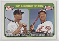 2014 Rookie Stars (Xander Bogaerts, Jonathan Schoop)