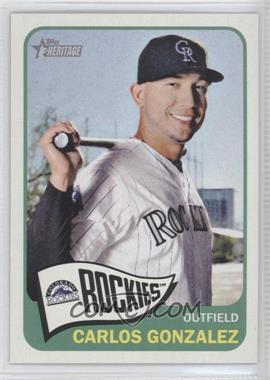 2014 Topps Heritage - [Base] #494.1 - Carlos Gonzalez (Base)