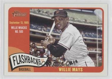2014 Topps Heritage - Baseball Flashbacks #BF-WM - Willie Mays