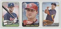 Tyler Pastornicky, Matt Holliday, Jason Castro