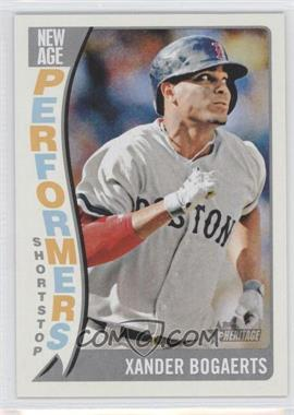 2014 Topps Heritage - New Age Performers #NAP-XB - Xander Bogaerts