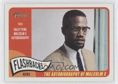 2014 Topps Heritage - News Flashbacks #NF-MX - Malcolm X