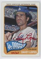 Davey Lopes /65
