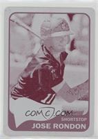 Jose Rondon #/1