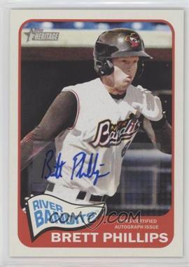 2014 Topps Heritage Minor League Edition - Real One Autographs #ROA-BP - Brett Phillips