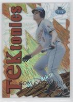 2014 Topps High Tek TEKtonics Diffractor #TD-CR - Cal Ripken Jr. /50 - Courtesy of COMC.com