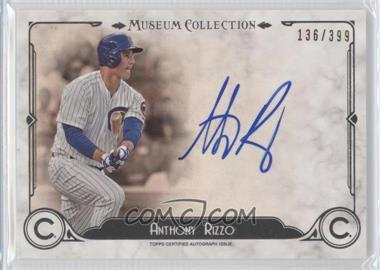 2014 Topps Museum Collection - Archival Autographs #AA-AR - Anthony Rizzo /399