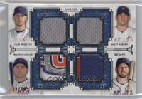 Zack Wheeler, Matt Harvey, Travis d'Arnaud, Ike Davis /99