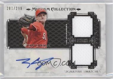 2014 Topps Museum Collection - Single-Player Signature Swatches Dual #SSD-TC - Tony Cingrani /299