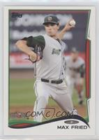 Max Fried (ball showing)