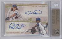 Jacob deGrom, Rafael Montero [BGS 9.5 GEM MINT] #/25