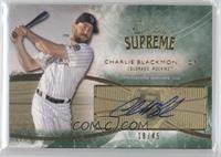 Charlie Blackmon #/45