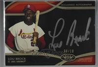 Lou Brock [Noted] #/10