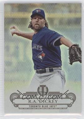 2014 Topps Tribute - [Base] #52 - R.A. Dickey