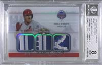 Mike Trout [BGS 8 NM‑MT] #/1