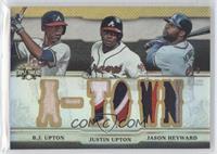 B.J. Upton, Justin Upton, Jason Heyward /9