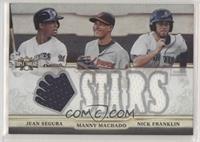 Jean Segura, Manny Machado, Nick Franklin #/36