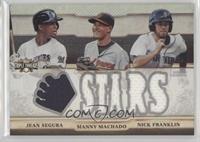 Jean Segura, Manny Machado, Nick Franklin /36