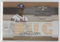 Fred McGriff /27