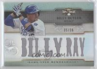 Billy Butler #/36