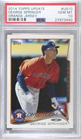 George Springer (Batting) [PSA 10 GEM MT]
