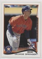 George Springer (Sparkle on Thumb)