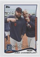 Joba Chamberlain (Celebrating)