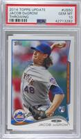 Jacob deGrom (Pitching) [PSA 10 GEM MT]