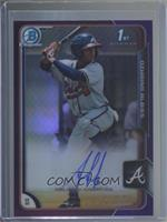 Ozzie Albies (Ozhaino on Card) #/250