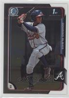 Ozzie Albies (Ozhaino on Card)