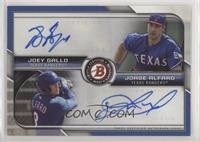 Joey Gallo, Jorge Alfaro #/99