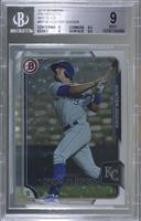 Hunter Dozier [BGS 9 MINT] #/1