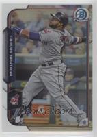 Carlos Santana Cleveland Indians Baseball Cards