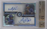 Willy Adames, Adrian Rondon /25 [BGS 9.5]