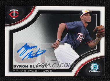 2015 Bowman Chrome - Prime Position Autographs #PPA-BB - Byron Buxton [Noted]