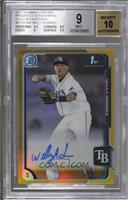 Willy Adames /50 [BGS 9 MINT]