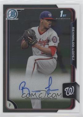 2015 Bowman Chrome - Prospects Autographs #BCAP-RL - Reynaldo Lopez
