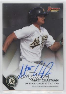 2015 Bowman's Best - Best of 2015 Autographs #B15-MCH - Matt Chapman