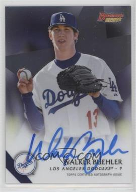 2015 Bowman's Best - Best of 2015 Autographs #B15-WB - Walker Buehler