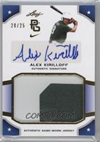 Alex Kirilloff /25