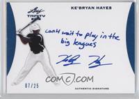 Ke'Bryan Hayes /25