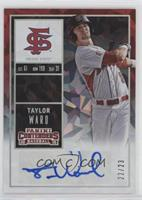 Taylor Ward (Batting) /23