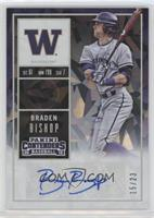 Braden Bishop (Blue Ink) #/23