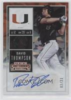 David Thompson (Black Jersey) #/23